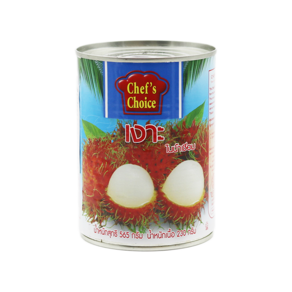 Chef's Choice Rambutan In Syrup 565g