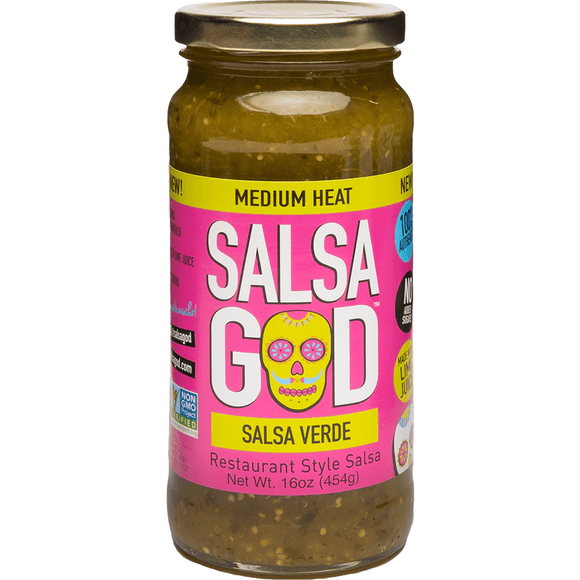 **Salsa God Salsa Verde 454g - Medium heat