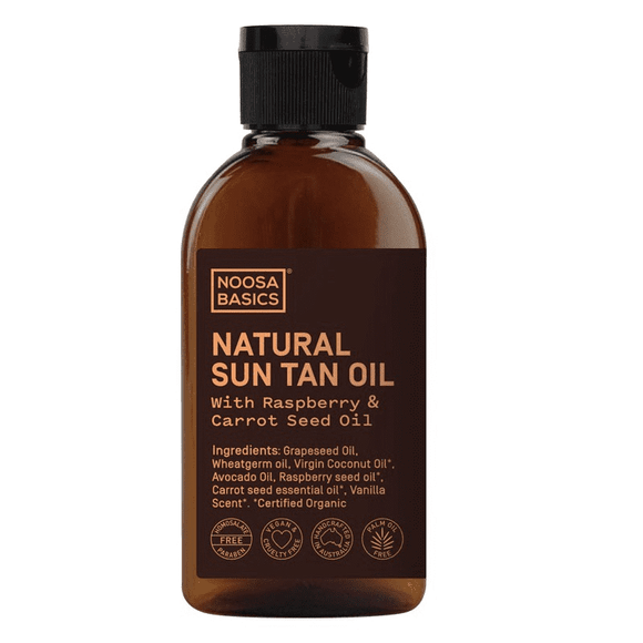 Noosa Basics Natural Sun Tan Oil  125ml