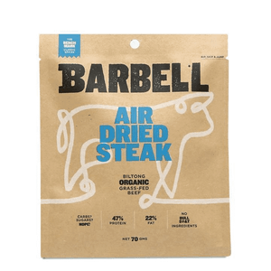 BARBELL Air Dried Steak - Benchmark Biltong 70g