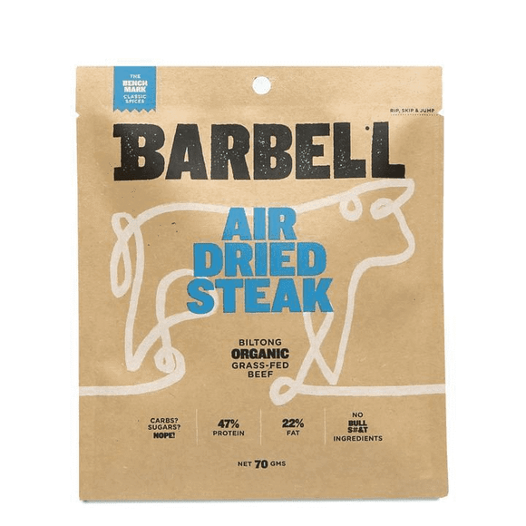 BARRELL Air Dried Steak - Benchmark Biltong 70g