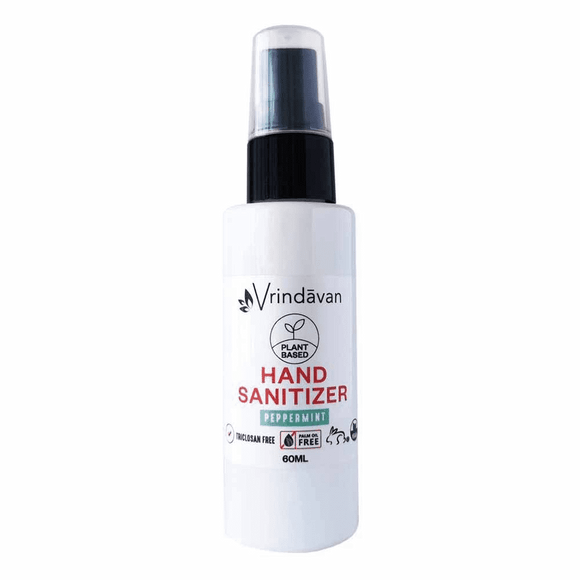 VRINDAVAN Hand Sanitiser Peppermint 60ml