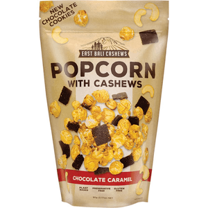 East Bali Cashews Chocolate Caramel Popcorn with Cashews 90g