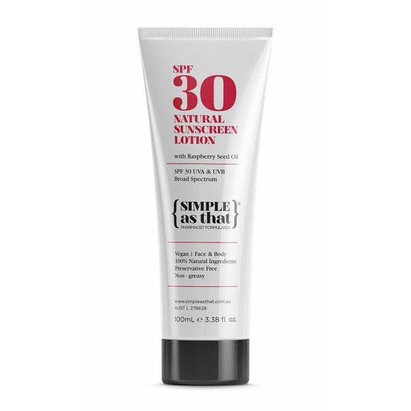 Simple As That Sunscreen Lotion 100ml