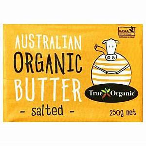 True Organic Salted Butter 250g