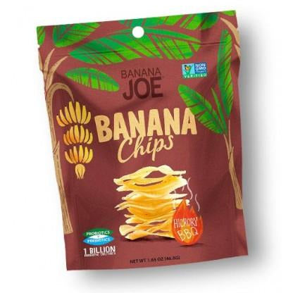 Banana JOE Banana Chips Hickory BBQ 46.8g