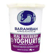 Barambah Organics Blueberry Natural Yoghurt 500g