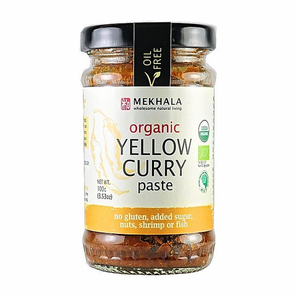 Mekhala Organic Thai Yellow Masaman Curry Paste 100g