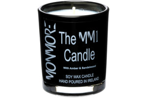 The MM1 Candle with Amber & Sandalwood for men contains a lavish, golden amber resin, lightened with flecks of vanilla and deepened with hues of cedar, geranium and rose with an underlying hint of sandalwood.