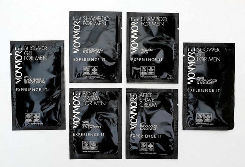 This is a fantastic opportunity to try samples of the Monmore Products. Each of the 6 samples are presented in individual sachets.