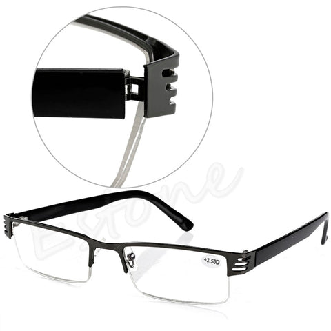 [LvDing] 1PC Blue Film Resin Reading Glasses +1.00 1.50 2.00 2.50 3.00 3.50 4.00 Diopter-modlily