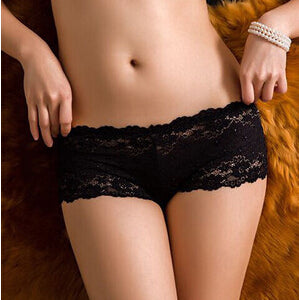 New Arrival Lace Floral Underwear Women's Panties Sexy Shorts Breifs Lingerie Female Panties-modlily