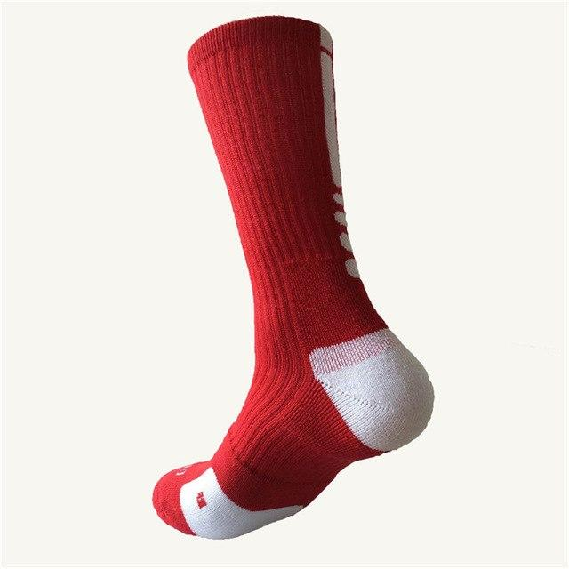 3 Pair/lot Women Men Basketballs Socks Unisex Professional Soft Breathable Thicken AthleticTowel Autumn Winter Cotton Socks-modlily