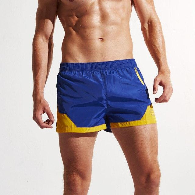 Superbody men's summer casual Men's beach shorts pants shorts water quick dry fashion shorts color loose short-modlily