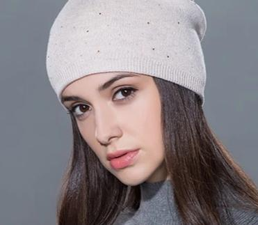 Women's winter hat knitted wool beanies female fashion skullies casual outdoor ski caps thick warm hats for women-modlily
