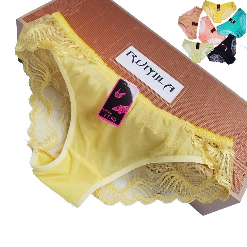 b58f53a5437 Big size XL-5XL Women lace G-Strings shorts Briefs sexy underwear ladies  panties