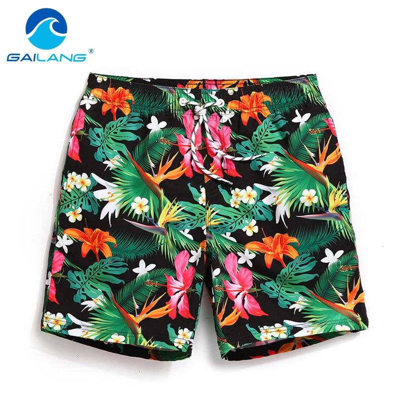 Gailang Brand Men's Quick Drying Boxers Trunks Active Man Bermudas Sweatpants Men Beach Swimwear Swimsuit Board Shorts XXXL Size-modlily