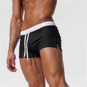 Swimwear Men Breathable Men's Swimsuits Trunks Boxer Briefs Sunga SwimSuits Maillot De Bain Beach Shorts 2018 New Fashion-modlily