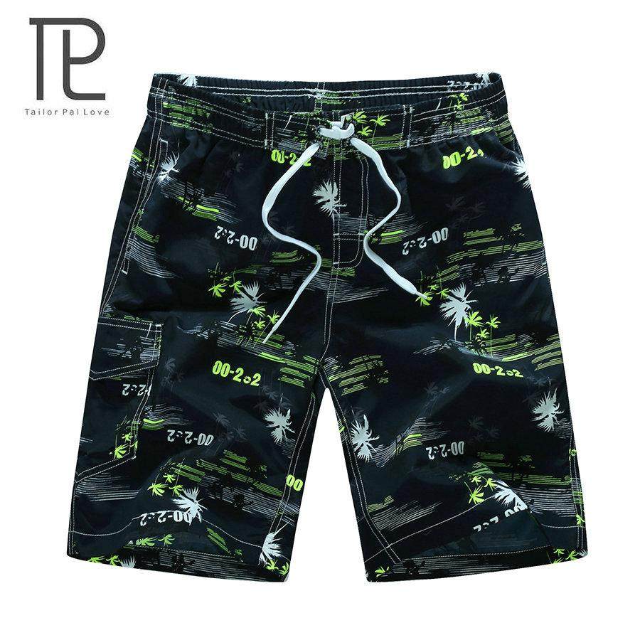 tailor pal love 2017 new arrivals Summer Beach Shorts fashion printed quick dry board shorts M-3XL AYG216-modlily