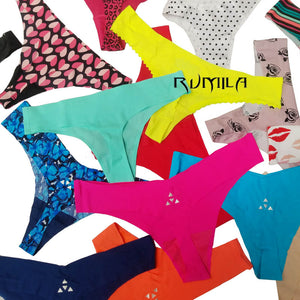 Good quality! Cotton Women's Sexy Thongs G-string Underwear Panties Briefs For Ladies T-back.1pcs/Lot ah09-modlily
