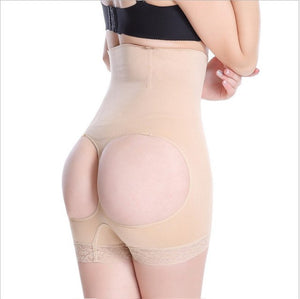 Wechery Control Pants Butt Lifter Tummy Control Panties High Waist Belly Slimming Sheath 4 Steel Bone Shaper Butt Booty Enhancer-modlily