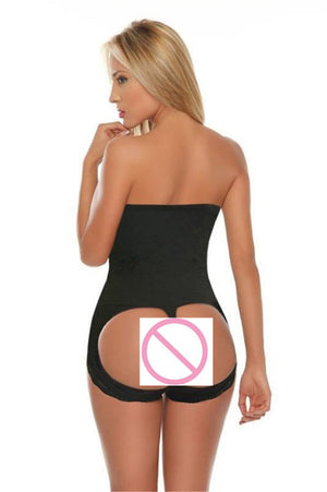 Hot Butt Lifter Panties Push Up Hip Make Big Buttocks Underpants High Waist Slimming Underwear Female Body Shaper Firm Control-modlily