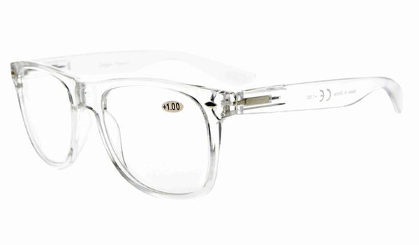 R133 Eyekepper Comfortable Readers Spring Hinges Large Simple Reading Glasses RX Magnification Eyeglasses +0.00-+4.00-modlily