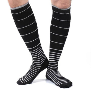 2 size Unisex Stress Relief Compression Socks reduce stress stockings help blood circulation men's slimming socks-modlily
