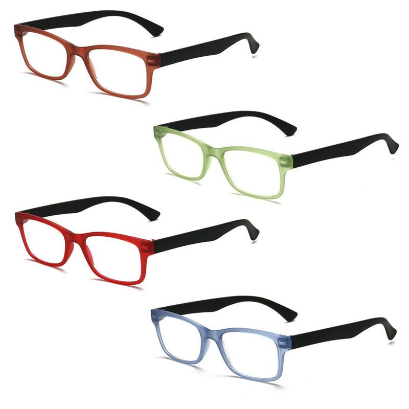 Ultra-light Reading Glasses Presbyopic Glasses gafas de lectura oculos Full Frame +1.0 To +4.0 Portable Gift for Parents-modlily