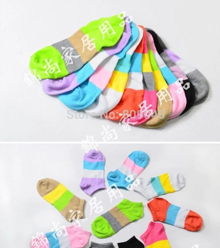 Summer winter Soft Colorful socks men's socks bamboo cotton for Ankle invisible men socks stockings 5pair=10pcs US01-modlily