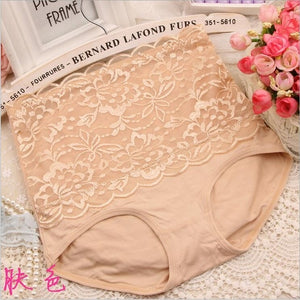 8Color Sexy Women Lace Panties Fashion Designer Body Shaper Hip Abdomen Tummy Control Briefs High Waist Underwear Women's Panty-modlily