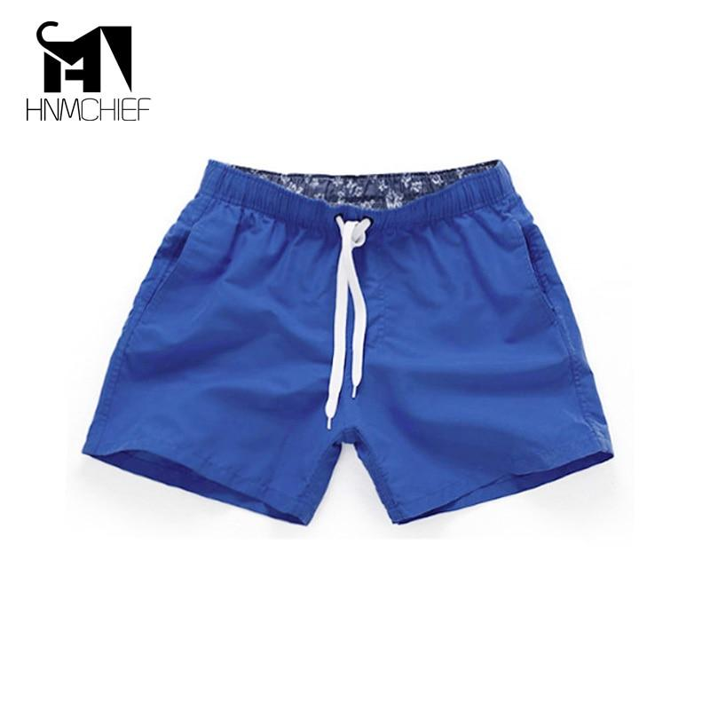 Men's Beach Shorts 2017 New Summer Casual Quick Drying Short Men Fashion Style Breathable Mens Beach Holiday Swimwear Shorts-modlily