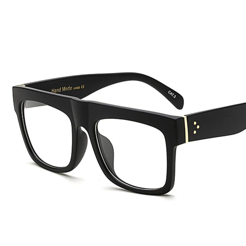 Peekaboo matte black glasses frames for men square clear transparent frame glassesmodlilj-modlily