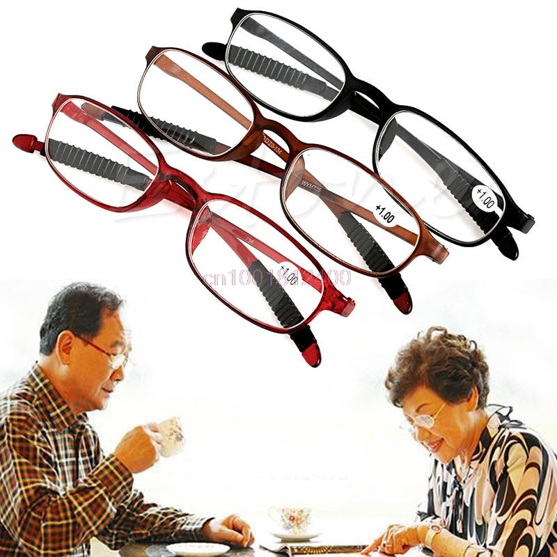 1PC New TR90 Women Men Flexible Reading Glasses Readers Strength Presbyopic Glasses-modlily
