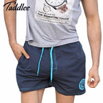 Taddlee Brand Men's Quick Drying Boxers Trunks Active Man Bermudas Sweatpants Men Beach Swimwear Swimsuit Board Shorts XXXL Size-modlily