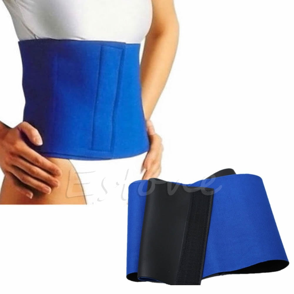 Waist Cincher Trimmer Burn Fat Wrap Weight Corsets Loss Slim Belt Body Shaper Girdle High Quality New-modlily