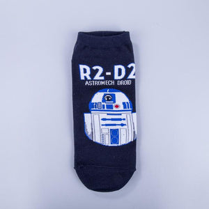High Quality New Arrival Star Wars Patterns Cotton Casual Socks Men's Brand Casual Socks Free Shipping-modlily