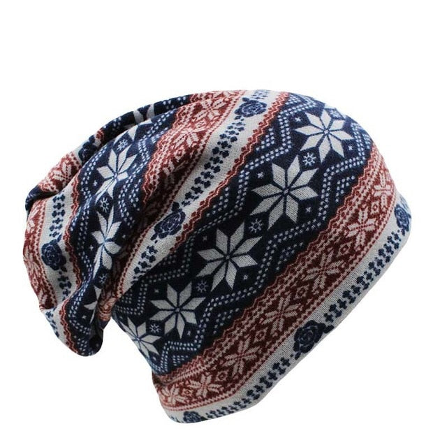 miaoxi Surprise Price New Fashion 2 Used Women Flower Hat Scarf Knit Autumn Caps 4 Colors Casual Beanies Skullies Solid Bonnet-modlily