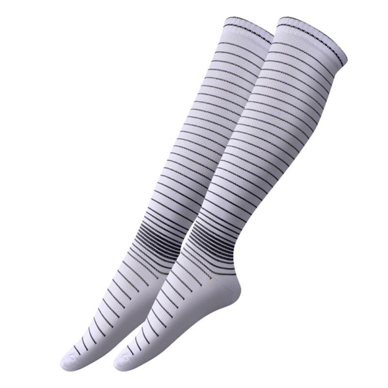 Men Elastic Compression Long Socks Warm Breathable Anti Slip Protection Ankle Casual Socks High Quality-modlily