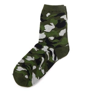 1Pair Man Compression Socks Warm Autumn Winter Socks For Men Meias Masculino Colorful Calcetines Hombre Camouflage Socks Art-modlily