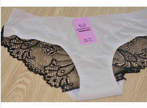 LeafMeiry #710 Hot Women Panties M L XL XXL Lace Underwear Women Sexy Lingerie-modlily