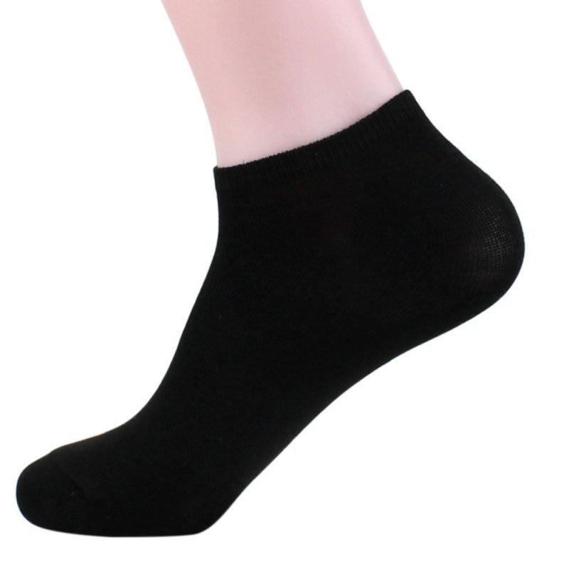 Men Quarter Socks Low Cut Ankle Black White Gray Men Cotton Casual Crew Socks calcetines deporte hombre-modlily