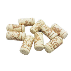 15pcs/lot Straight Bottle Wood Corks Wine Bottle Stopper Corks Wine Stoppers Bottle Plug Bar Tools Wine Cork Wooden Sealing Caps-modlily