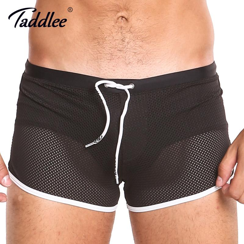 1497d4eb5c Taddlee Brand Board Shorts Boxer Trunks Swimwear Men Swimsuits Beach Shorts  Black Solid Plus Size Quick