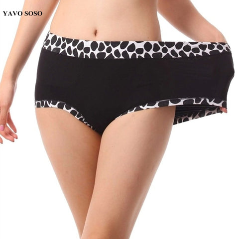 YAVO SOSO New Arrival Briefs Women Modal Cotton lingerie women's Panties Plus Size 6XL Big size Lady Underwears-modlily