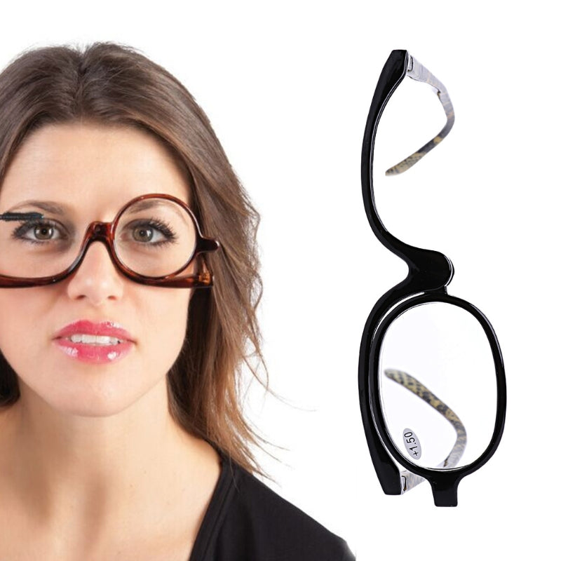 Women Reading Glasses Presbyopic Eyeglass +1.0 +4.0 For Cosmetic Glasses Making Up-modlily