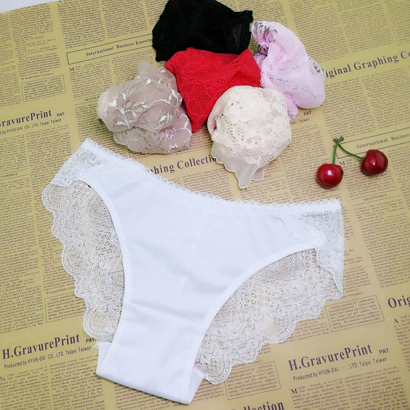 Sexy pant gauze underwear lace perspective women Sexy lingerie women lace pants exposed female G-string 1pcs ah74-modlily