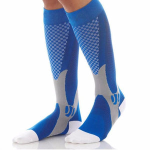 High Sale Unisex Leg Support Stretch Compression Socks Below Knee Socks Men Women Magic Performance Workout Fitness Socks-modlily