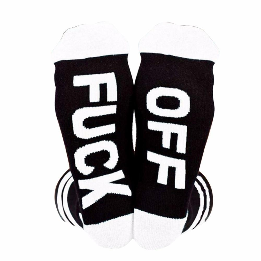 AOWOFS OFF crew socks Fashion happy socks funny socks for men women striped Sweat-absorbent anti-friction sock-modlily