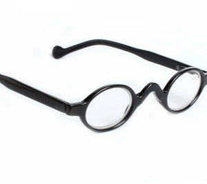 YOOSKE Reading Glasses Round Readers Small Ultra-light Eyeglasses Hyperopia Resin Glasses Anti-fatigue Glasses-modlily